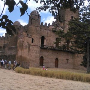 Fasiledes Castle in Gondar, Ethiopia. Photo shared courtesy Yodit Tesfaye