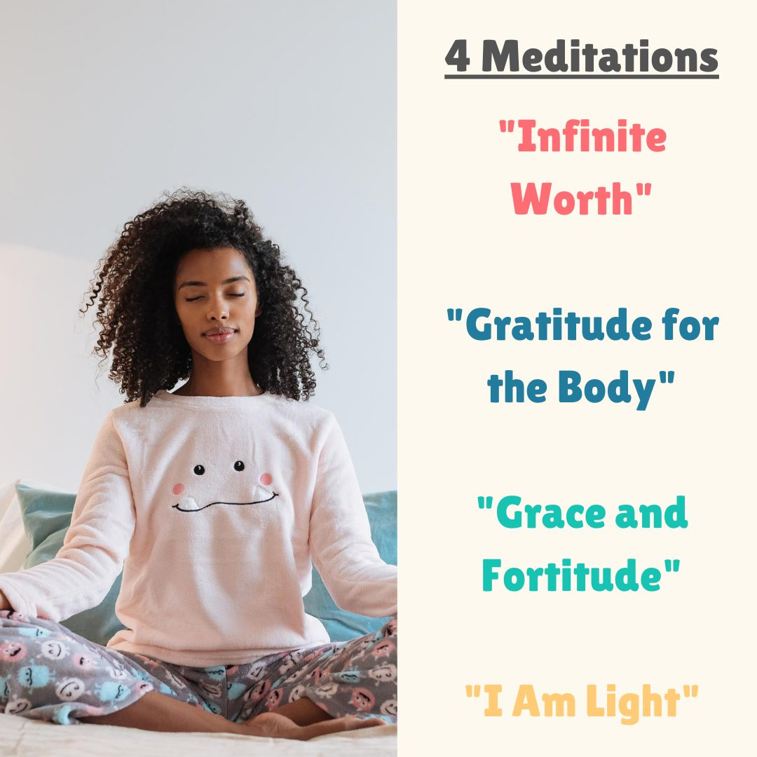 Meditations and Affirmations: Confidence for Girls